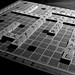 Scrabble: Black and White
