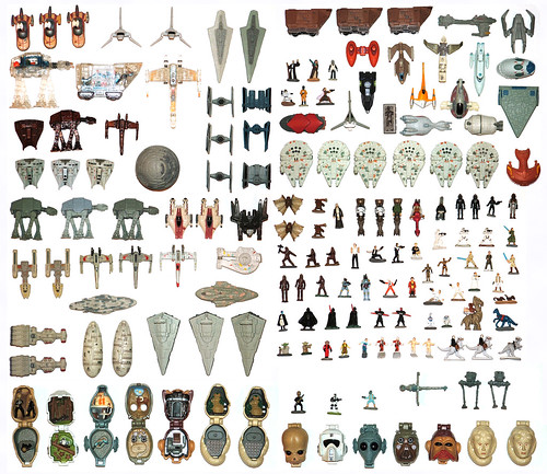 Star Wars Micro Machines | Spot the Star Trek ship... This