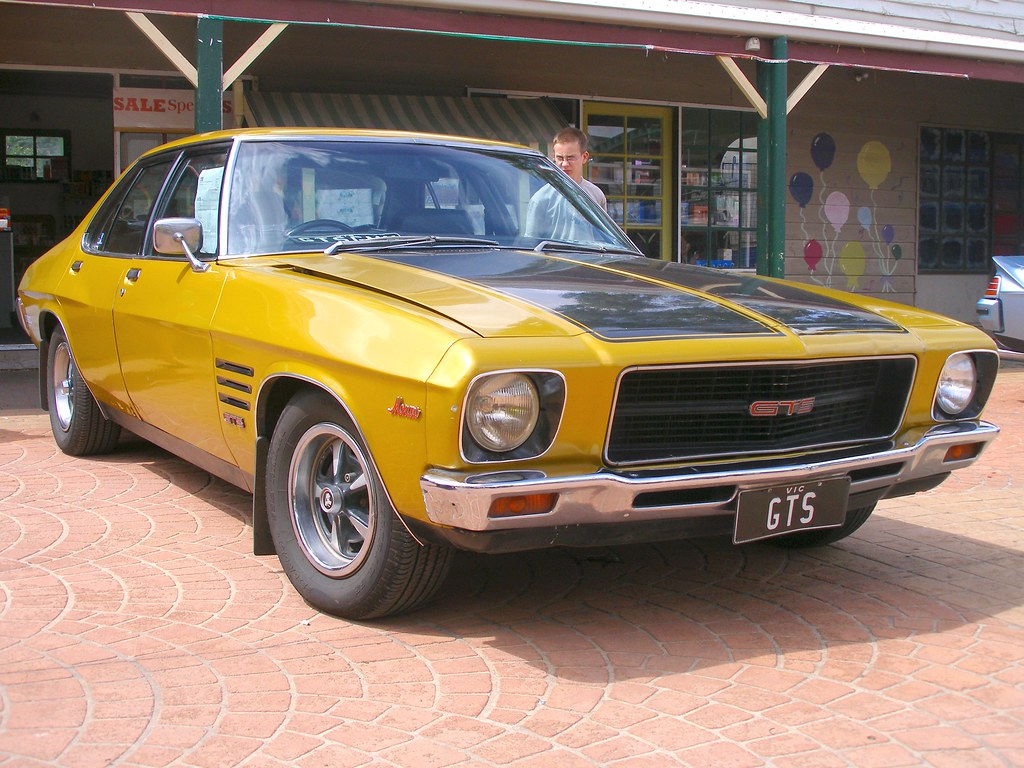 Holden Hq Monaro Gts 350 This Was One Of The Big Guns
