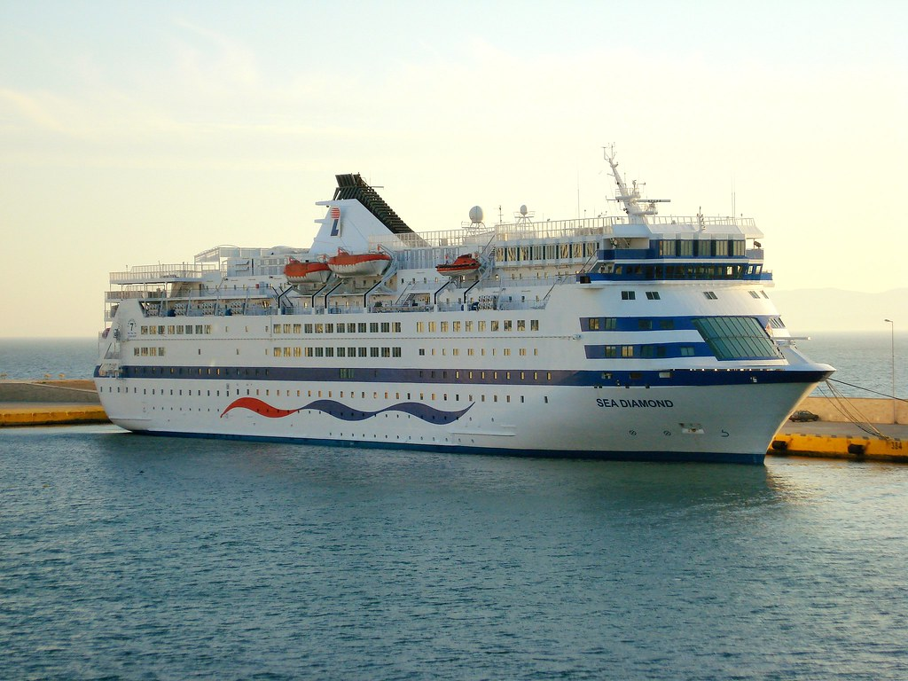 diamond passenger sea photo stock ms at kusadasi the turkey liner