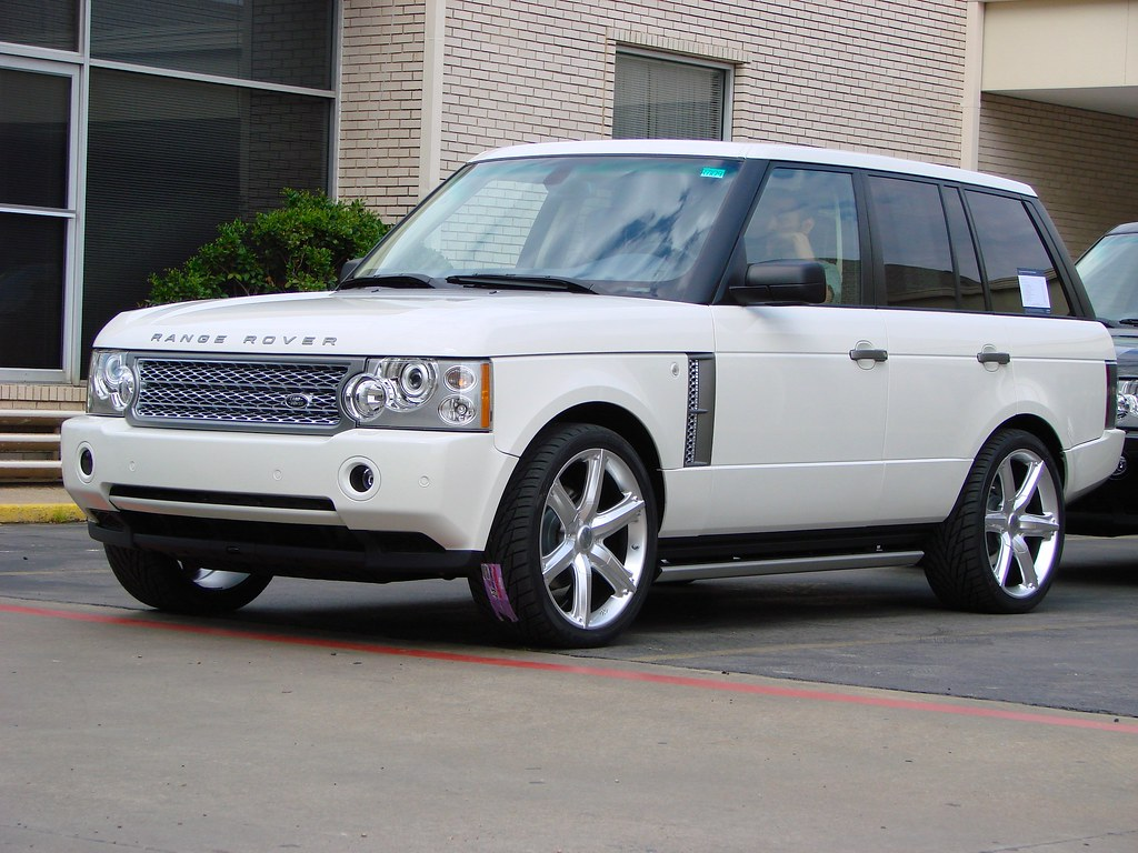 Custom Amp Clean 2007 Range Rover Hse With 22 Quot Cec 826
