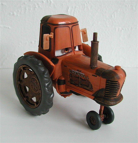 Tractor From Cars : Disney store cars toy chewall tractor the