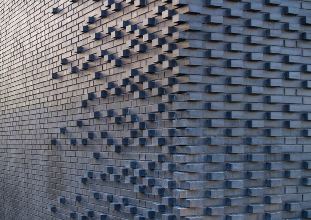 Brick texture Brick pattern by Mark Koehler architects
