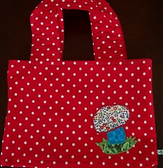 Mrs. P's Christmas Tote Reversed | by artsmith_satx