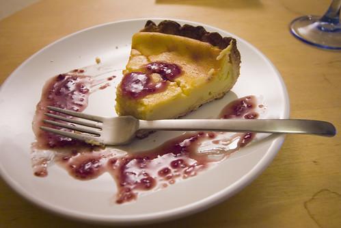 Tarte Au Fromage  Ef Bf Bd Lyon Cheese Cake