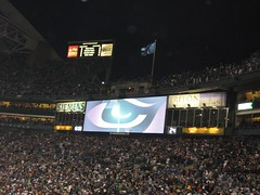 The Cool Seahawk Eye Thing on the Scoreboard | by ThatKidInTheCorner