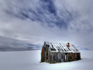 Snow shack | by James Neeley