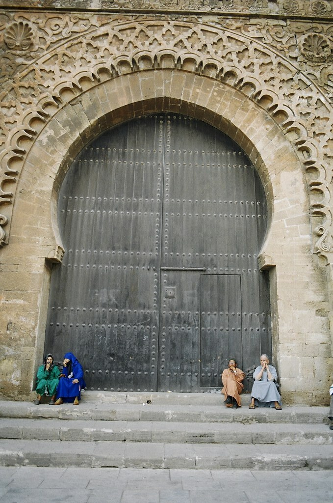 ... BIG Old Door | by IATEFL Conference 2014 Harrogate & BIG Old Door | One big old doors there in Rabat suddenly in\u2026 | Flickr