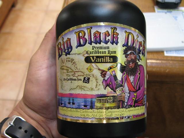 Big black dick drink