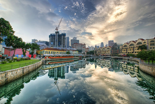 Clark Quay Reflected | by DanielKHC