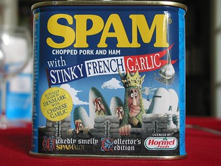 Spam with Stinky French Garlic | by jalb