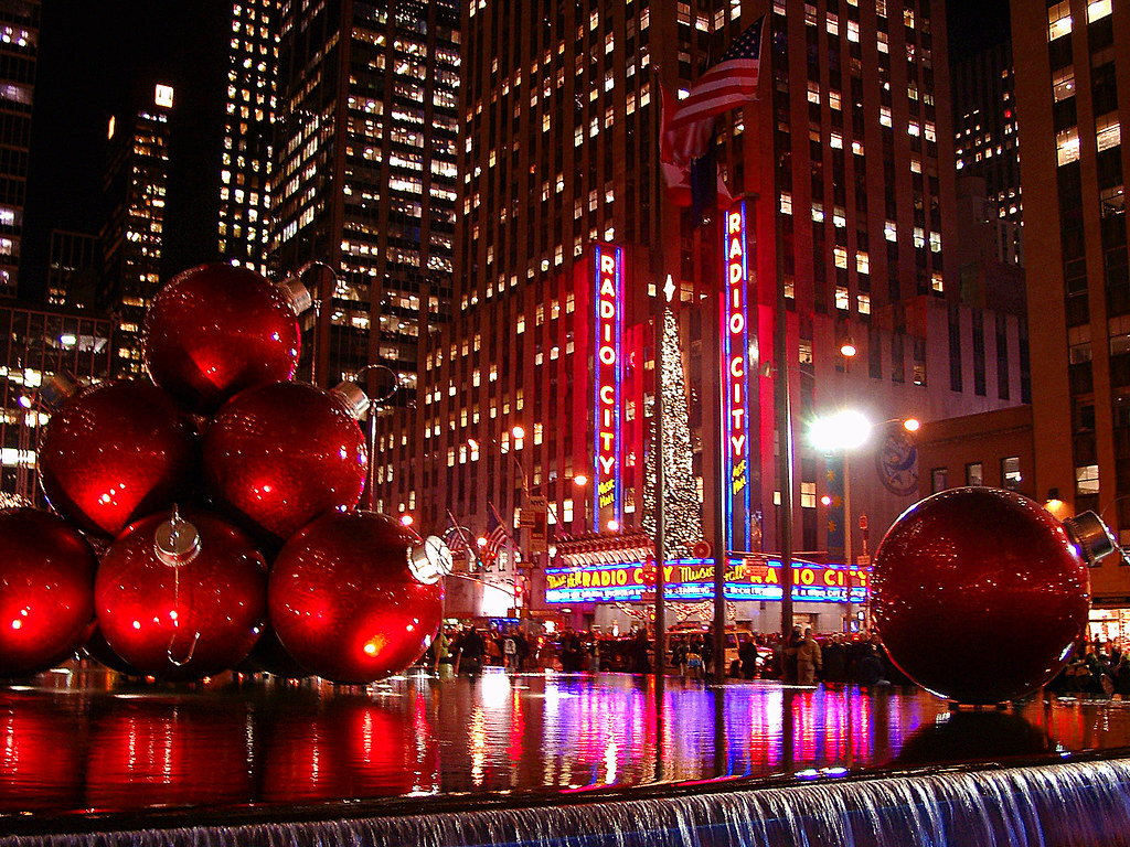 Sixth avenue and radio city music hall radio city music for 3d wallpaper for hall