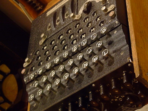 Enigma Machine - Telecommunications gallery - Science Museum | by Gaetan Lee