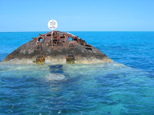 Bermuda shipwreck no fishing see where this picture was for Fishing in bermuda