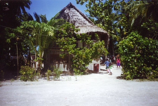 house in kiribati 1999 trip