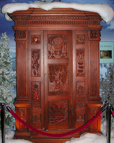 The Wardrobe From The Chronicles Of Narnia The Lion The
