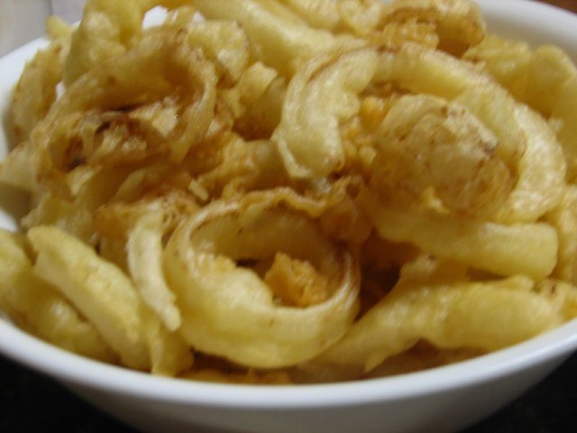 Onion Rings With Cracer Meal