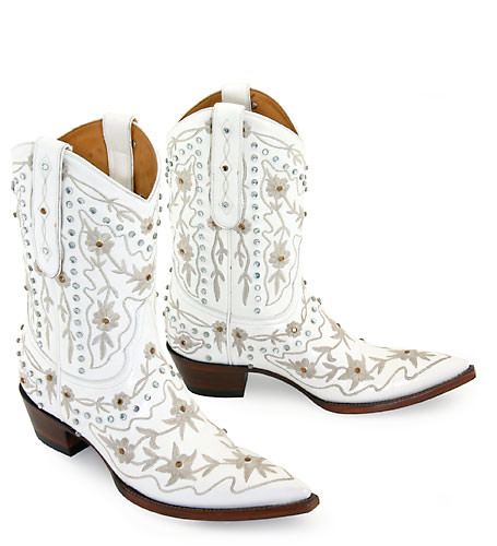 Old Gringo White Marylin Cowboy Boots