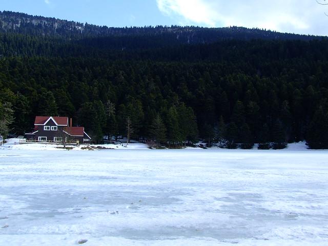 Bolu Gölcük(frozen lake)