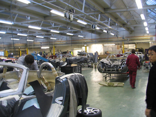 Tvr Factory Visit Blackpool Bizarre Visit The Tvr