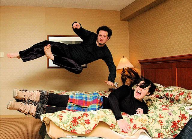 Fun in bed