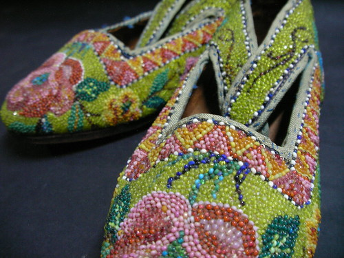 Peranakan Beaded Shoes For Sale