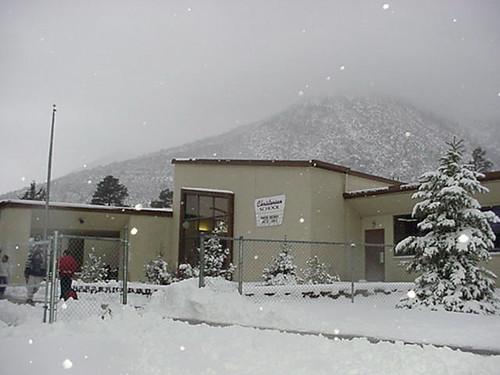 Christensen elementary school winter rockychrysler flickr for Winter gardens elementary school