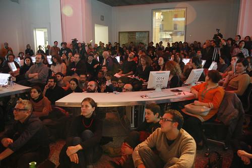 il popolo di Meet the Media Guru (io sono quello seduto sulla sinistra)
