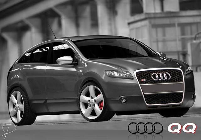 audi qq chop based on the nissan qashqai made for