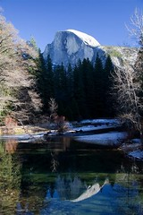 Half Dome from the Merced River | by Cliff Stone