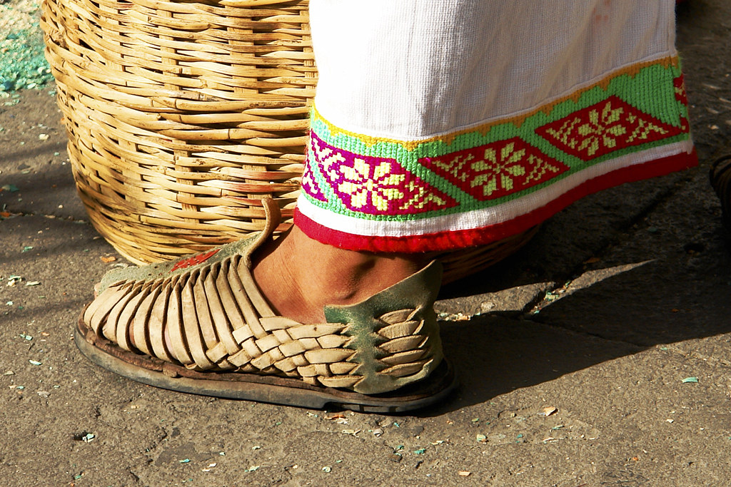 Huarache de Huichol | © All rights reserved. May not be ...