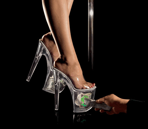 dancing stripper shoes