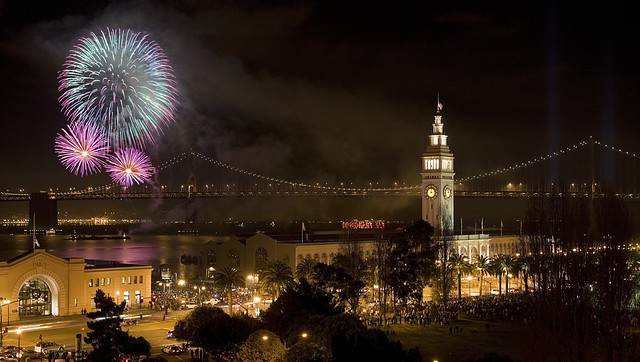 Silvester in San Francisco