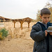 Game Boy at the Baptism Site