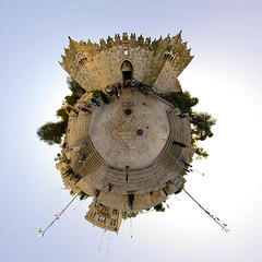Planet Jerusalem :: Damascus Gate | by Sam Rohn - 360° Photography