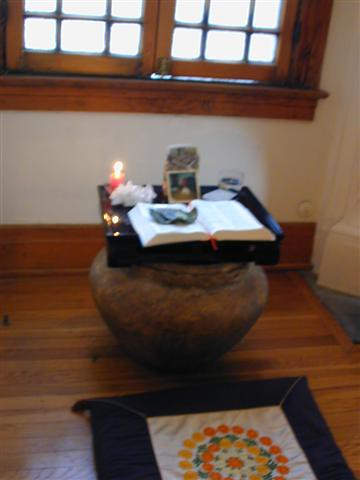 ... Home Meditation Altar | By Chris Curry