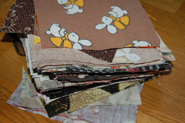 Brown quilt project