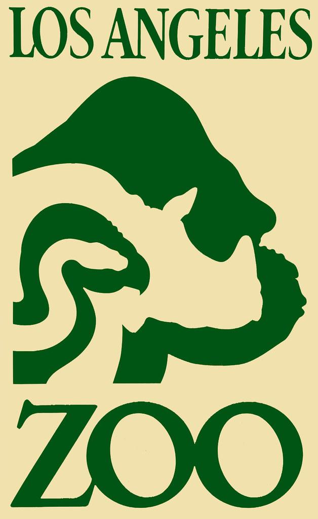 l a zoo logo logo featuring a snake condor rhino and go flickr