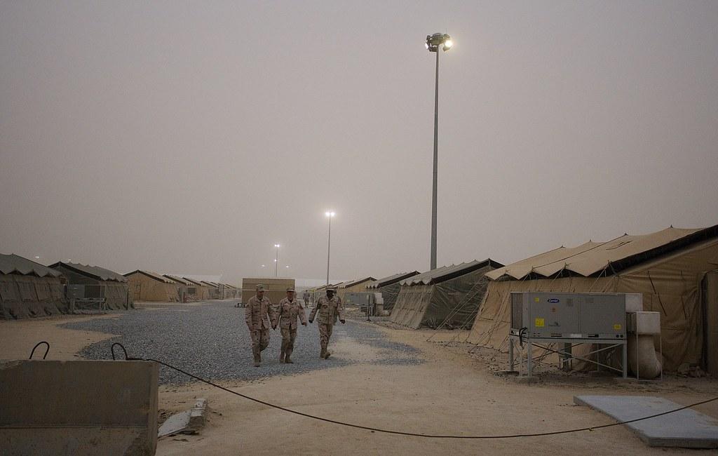 Sandstorm in camp ali al salem kuwait christopher michel flickr michel sandstorm in camp ali al salem kuwait by christophermichel sciox Images