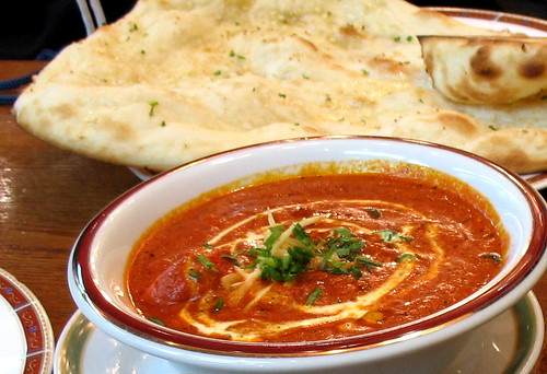 Butter Chicken and Naan | by Joshua Rappeneker