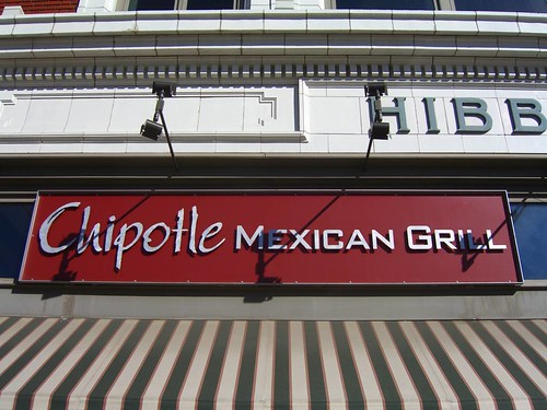 front sign at chipotle in colorado springs | by gregglesworth