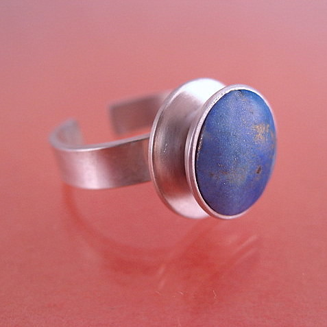 Polymer and Sterling Ring | by stonehousestudio