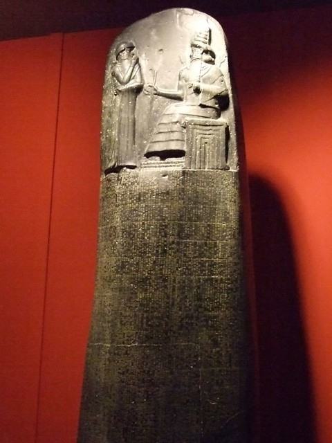 louvre reproduction of the law code of hammurabi monolith