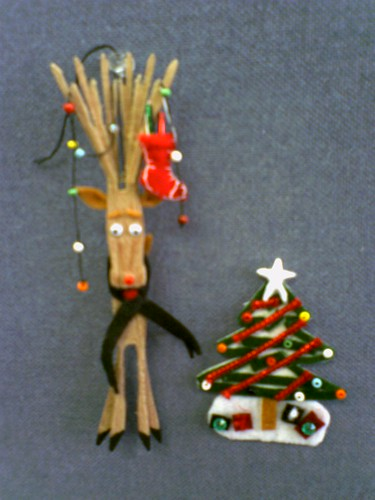 Clothespin Reindeer | Flickr - Photo Sharing!
