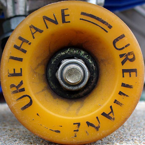 Urethane Skateboard Wheel It S An Old One Maybe From