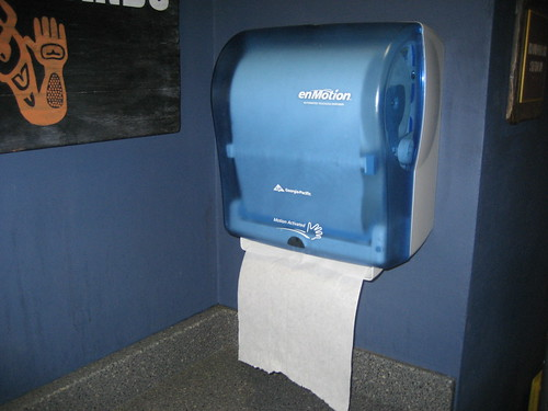 Enmotion automatic paper towel dispenser nick gray flickr for Automatic paper towel