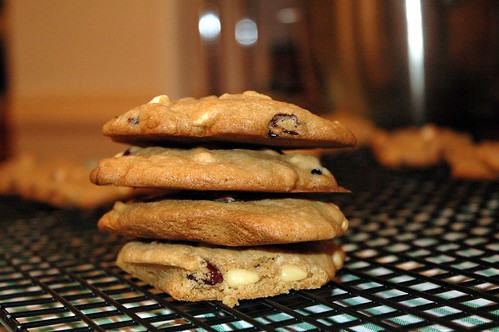 Cookies - White Chocolate, Cranberry & Pine nuts | by sassyradish