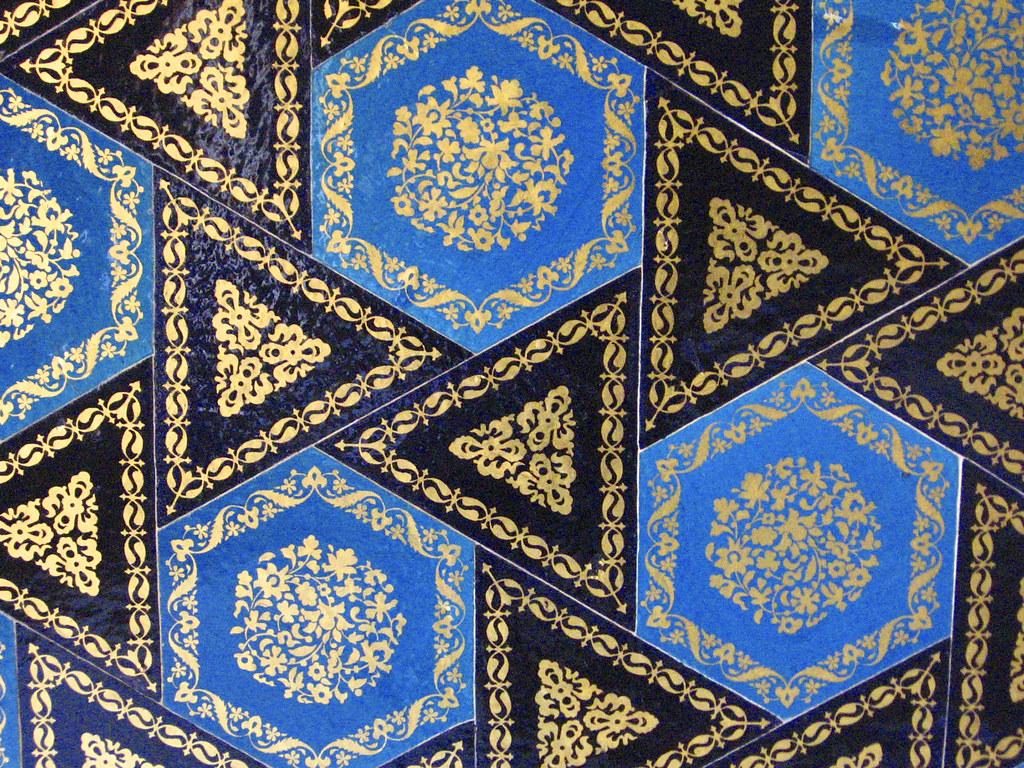 Turkish Tiles 3 Cinili Pavillion Istanbul
