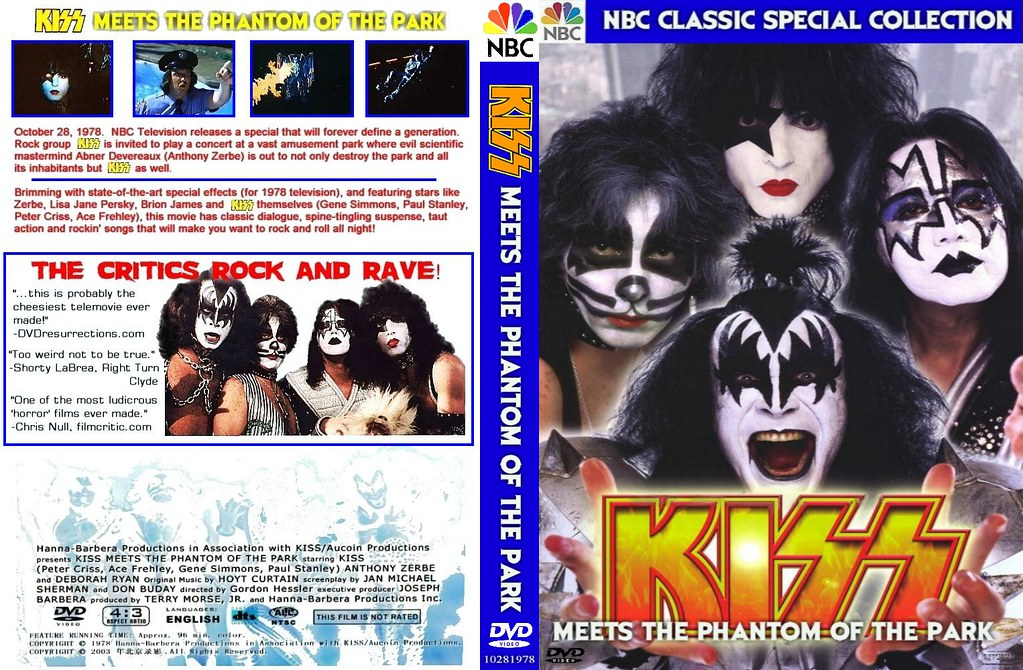 Kiss meets the phantom of the park  тема - youtube