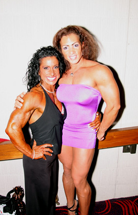 powerful sexy muscle babes | two of the best female